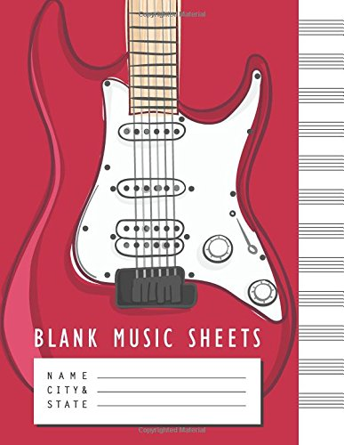 Blank Music Sheet: Manuscript Paper Standard Wire-Bound 12 Stave Blank Sheet Music Manuscript