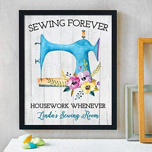 Personalized Sewing Print | Craft Room Decor | Sewing Gift | Sewing Room Decor | Sewing Decoration | Knitting Gift | Quilting Gift | Personalized Gift for Grandmother | Grandma Christmas Gift from Canary Road