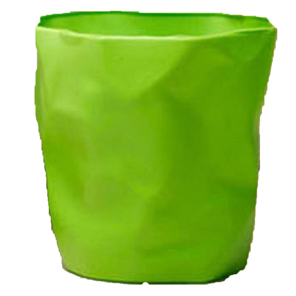 Jia Qing Papelera De Plástico Sala De Cocina Estar Cocina De Baño Dormitorio De Oficina Con Tapa Reciclaje Bin,Naranja 3a1e7d