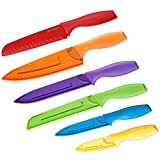 Top Chef 6-Piece Professional Grade Colored Knife Set