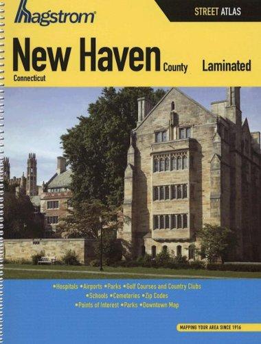 Hagstrom New Haven County, Connecticut Street Atlas