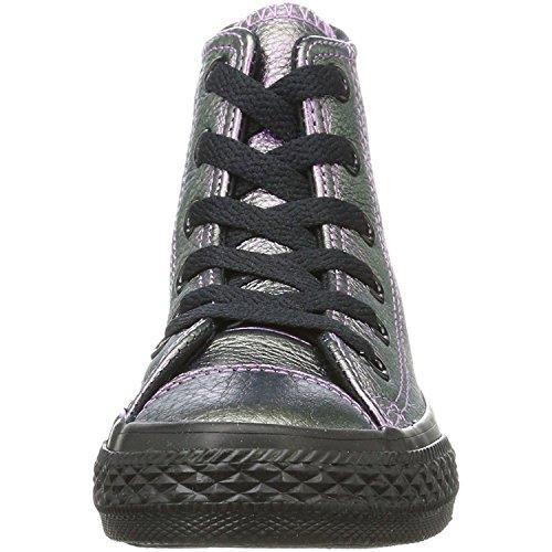 Para Altas Ctas Unisex Hi Converse Zapatillas Black Violet Violeta Niños w0WXRR1q