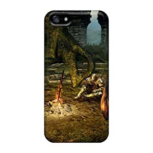 New Arrival Cases Covers With ZYr2014DrNR Design For Iphone 5/5s- Dark Souls Bonfire