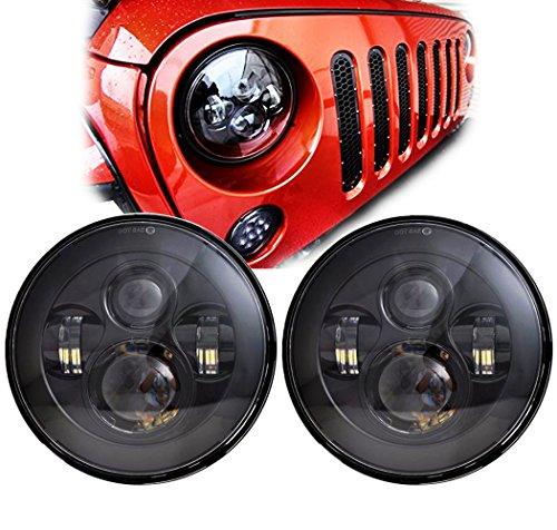 Jeep Wrangler Headlamp (COWONE DOT Approved OSRAM 7