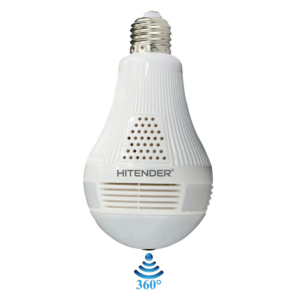 HITENDER HTD-001 Light Bulb IP Camera 960P HD