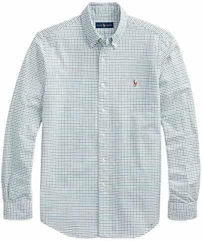 dd03ad1c36974d Polo Ralph Lauren Men's Big and Tall Long Sleeves Classic Fit Oxford  Buttondown Shirt (3XB