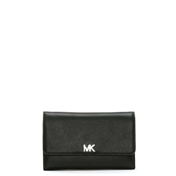 MICHAEL by Michael Kors Money Pieces Nero Medium Portafoglio