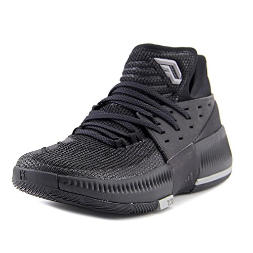 Adidas Dame 3 Sko Mens Basket Kärna Svart-core Svart Fast Grå