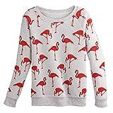 Women's Flamingo Sweatshirt - XXL