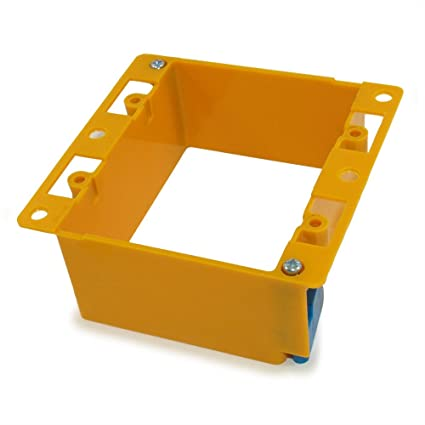 Wall plate Single Gang Wallbox  Low Voltage Existing Construction