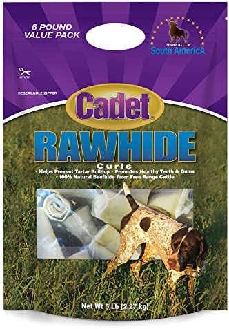 Cadet Rawhide Dog Treat Curls