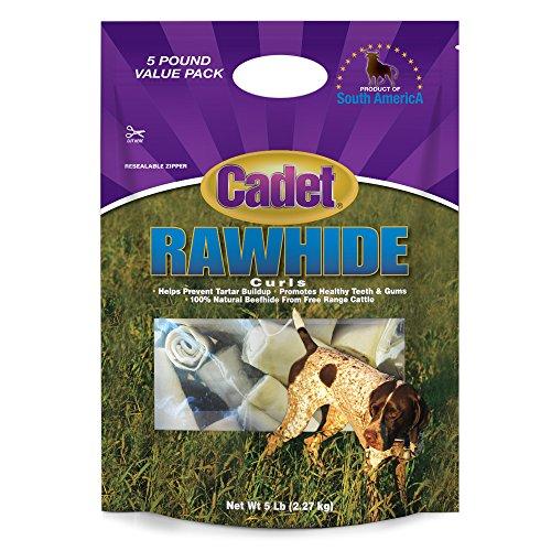 Cadet Rawhide Curls Dog Chews ()