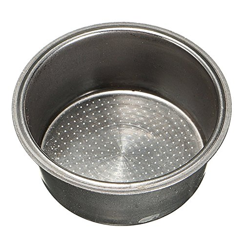 (MagiDeal Coffee 2 Cup 51mm Non Pressurized Filter Basket For Breville Delonghi)