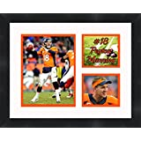 Peyton Manning - Denver Broncos, Framed 11 x 14 Matted Collage Framed Photos Ready to hang