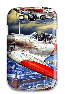 Excellent Galaxy S3 Case Tpu Cover Back Skin Protector Aircraft