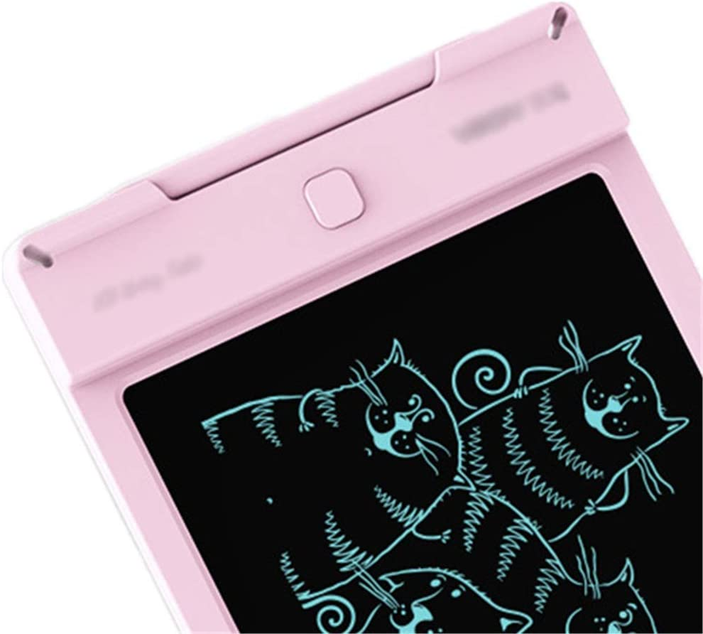 LORGDFDF Creative 9-inch Writing Board Doodle Board Drawing Pad Gifts for Kids Adults Easy to Carry Color : Pink, Size : 9 inches