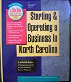 Starting and Operating a Business in North Carolina, Michael D. Jenkins and Ernst and Young Staff, 1555712665