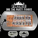 #5: Fortnite dog tag, fortnite dogtag party favor, fortnite birthday favors