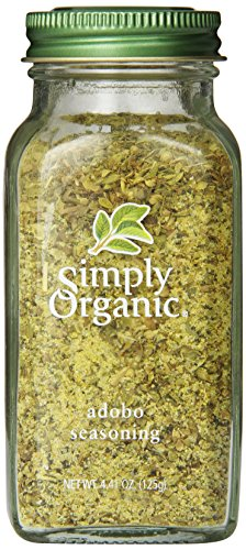 Simply Organic Seasoning, Adobo, 4.41 Ounce