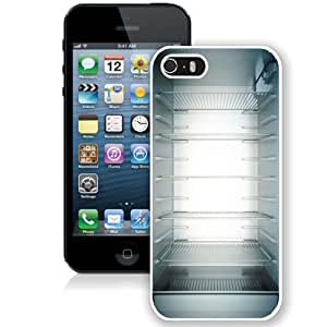 Personalized Phone Case Design with Inside My Fridge Shelves iPhone 5s Wallpaper in White
