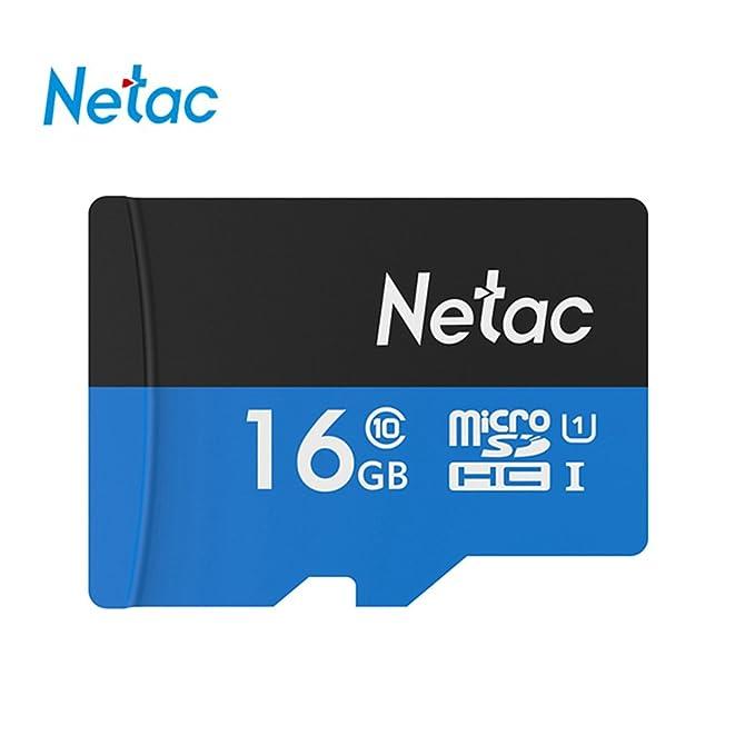 4 opinioni per Netac P500 memoria MicroSD da 32GB,exceria -80MB/s-Classe 10-UHS-I (Nuova