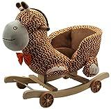 Kids Childrens Giraffe Animal Rocker Rocking Toddler Infant Baby Toy Gift By HOME HUT