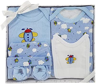 HARSON & Jane 100% algodón premium Baby Set de regalo - Body, babero ...
