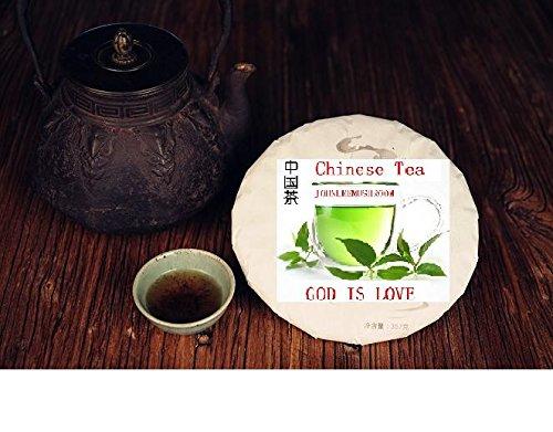 Pu erh black tea, Highest grade unfermented puer tea 357 grams tea cake