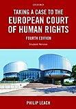 TAKING A CASE TO THE EUROPEAN
