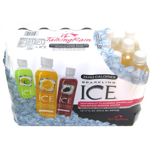 - Sparkling ICE Spring Water, Variety Flavors, 17-Ounce Bottles (Pack of 18)