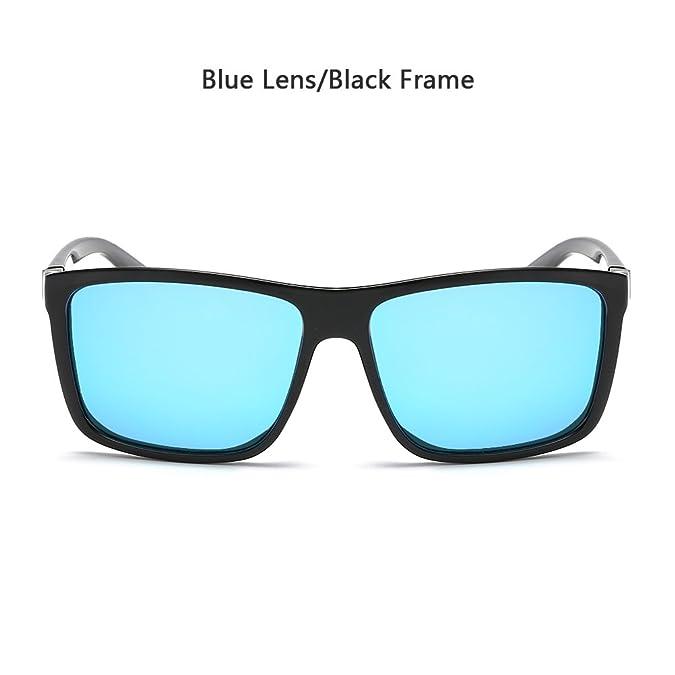 963ad178d1 Amazon.com  Polarized Sunglasses for Men Driving Mens Sunglasses Rectangular  Vintage Sun Glasses For Men Women Blue  Shoes