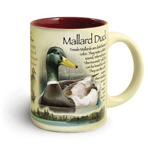 Wildlife Ducks (American Expedition Wildlife 16-Ounce Ceramic Mug (Mallard)