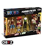 One Piece Luffy & Zoro Action Figure Set