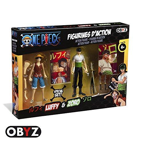 One Piece Luffy & Zoro Action Figure Set