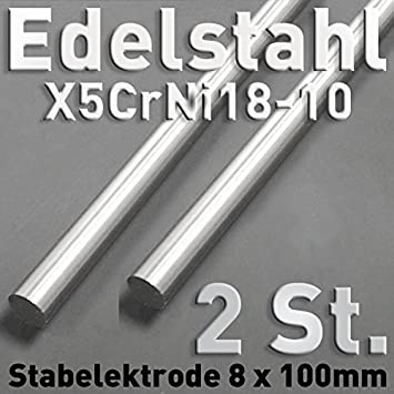 2 pieza de acero inoxidable de anoden de acero inoxidable V2 ...