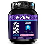 EAS 100% Whey Protein Powder, Strawberry, 2 Pound