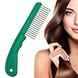 The Hair Doctor Extra Long Tooth Hair Comb 1¼ Inch - With Handle