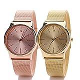 Han Shi Wrist Watch, Women Fashion Classic Gold Quartz Watch Stainless Steel Bracelet