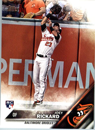 2016 Topps Update #US105 Joey Rickard Baltimore Orioles Baseball Rookie - Topps Baseball Orioles Baltimore Cards