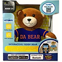 Da Bear Ultra-portable Wireless Bluetooth Teddy Bear Speaker,recordable Stuffed Animal Compatible with All Bluetooth Devices
