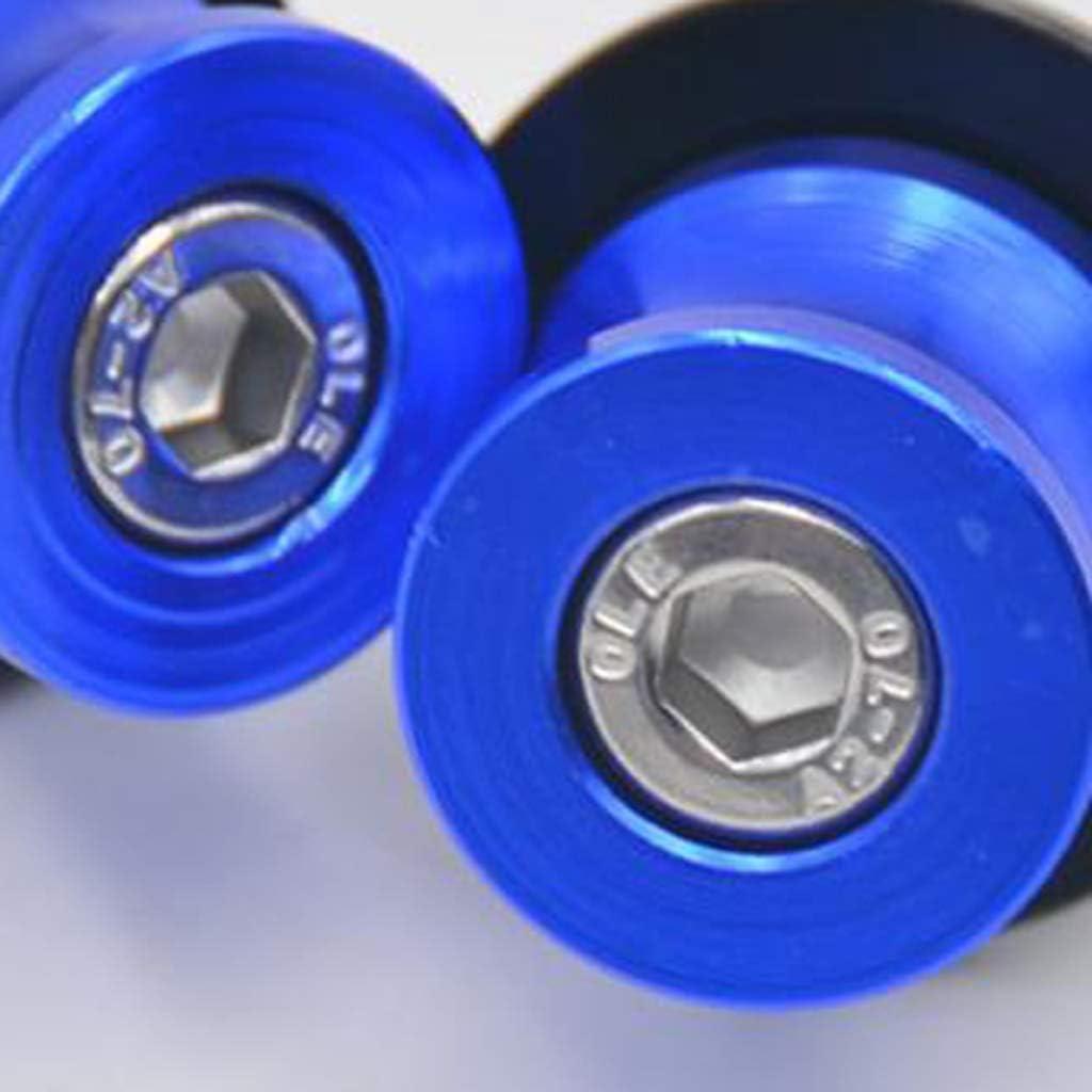 Aluminium St/änderaufnahme Schrauben f/ür ATV Quad Roller Blau M8 Racingadapter Montagest/änder Sschrauben KESOTO 2 TLG