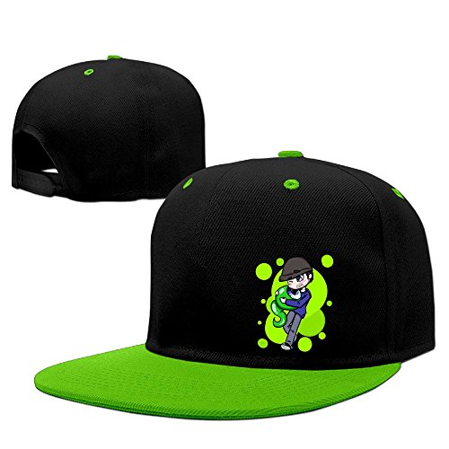 [Hip Hop JACKSEPTICEYE Plain Hats] (Jumbo Hip Hop Adult Hat)