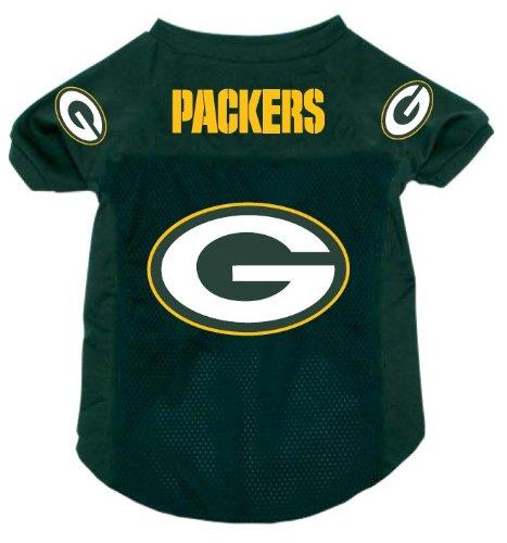 (Green Bay Packers Pet Dog Football Jersey Alternate SMALL )