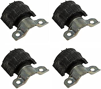 Ship from US Set of 4 Front Sway Bar Bushing Bracket 1643231185 NEW FOR Mercedes-Benz ML350 GL550 ML63 AMG GL350 GL320 ML550 2006 2007 2008 2009 2010 2011 2012