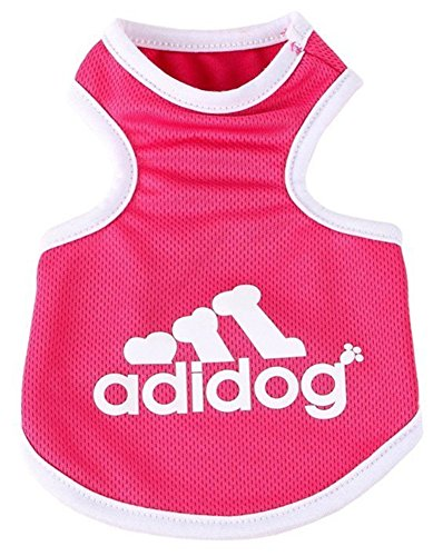 YAAGLE Summer Pet Mesh Cool Breathable Vest Sweatshirt Clothes Costume Apparel for Dog Puppy Cat (Underdog Dog Costume)