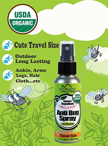Us Organic Mosquito Repellent Anti Bug Outdoor Pump Sprays