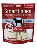 SmartBones Chicken Dog Chew, Large, 3 pieces/pack