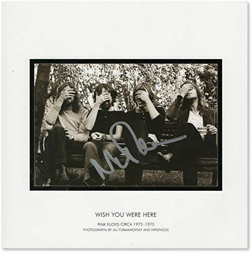Nick Mason Autographed Signed Softcover Book Pink Floyd Wish You Were Here JSA Gg68796