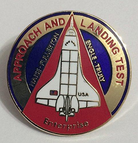 New Nasa Space Shuttle Program Approach and Landing Mission Lapel Pin Enterprise -