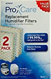 Pro Care Replacement Humidifier Filter OFT813VP 2 Pack For Use With Cool Mist Humidifiers Fits Models: ProCare PCCM-832N, PCCM-840 & Relion RCM-832N, Robitussin, Duracraft, Sesame Street & Many More (See List)
